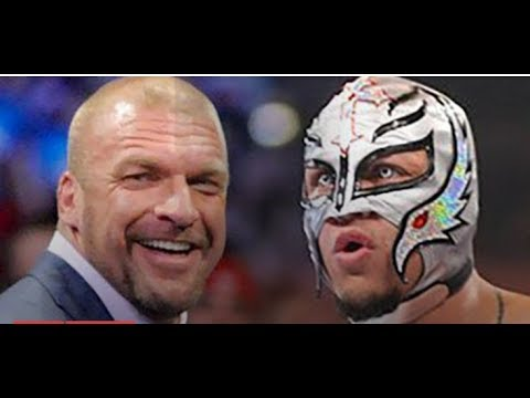 TRIPLE H Cancels HUGE WWE MEETING WITH Rey Mysterio WWE Contract Signing news pro wrestling