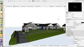 ArchiCAD 21 House Project - part 28 - custom complex profile