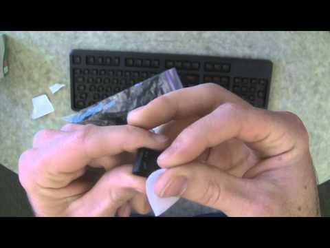 ENGL149 Instruction Manual Video - Cleaning and Dissassembly of Dell KB212-B Keyboard