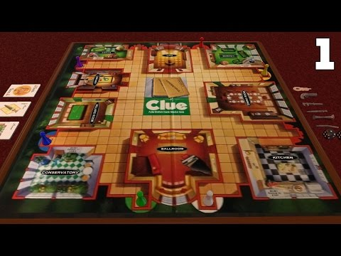 Board Game Night - Clue Part 1