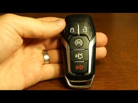 2017 Ford Explorer key fob battery replacement