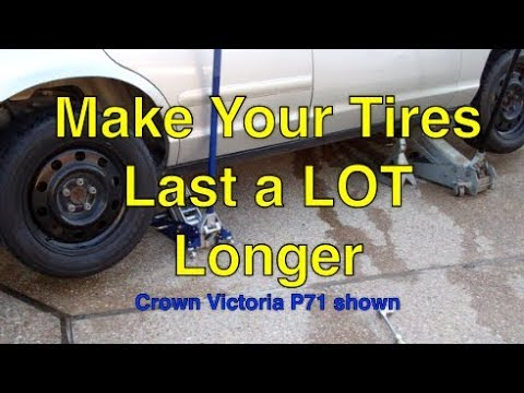 How to make your tires last a long time P71 shown