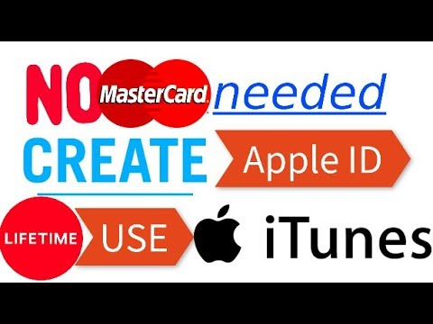 Making a FREE Apple ID or iTunes account with JUST A COUPLE CLICK