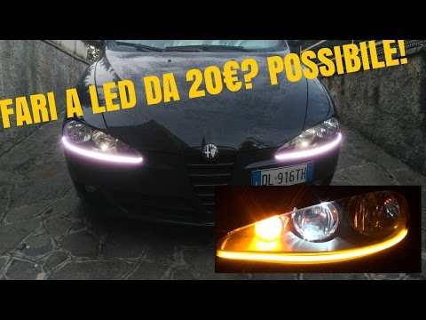 Fari a LED con 20€? Certamente, con i LED DRL!