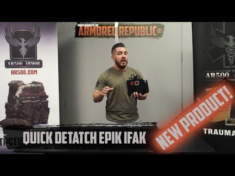 AR500 Armor® Quick Detach IFAK Pouch
