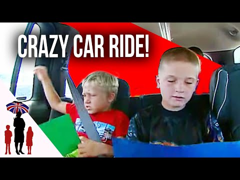 Great Technique To Make Kids Behave While Travelling In Car | Supernanny