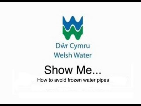 How to avoid frozen water pipes - Welsh Water