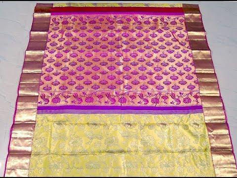 Unboxing Designer Kanchipuram Silk Saree Directly From Weavers of Kanchi