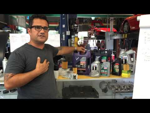 Mini Cooper Oil Change
