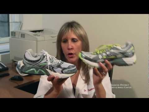 Getting the proper shoe size by using width and depth from San Francisco Podiatrist