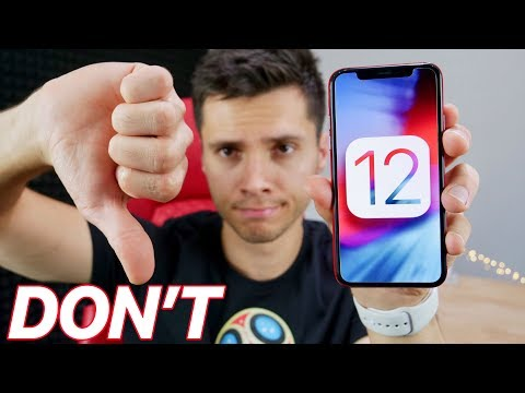 Do NOT Update to iOS 12! Why I Regret It