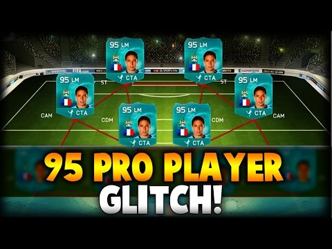 HOW TO GET 95 RATED PRO PLAYER CARDS (GLITCH) - FIFA 15 ULTIMATE TEAM SQUAD GLITCH