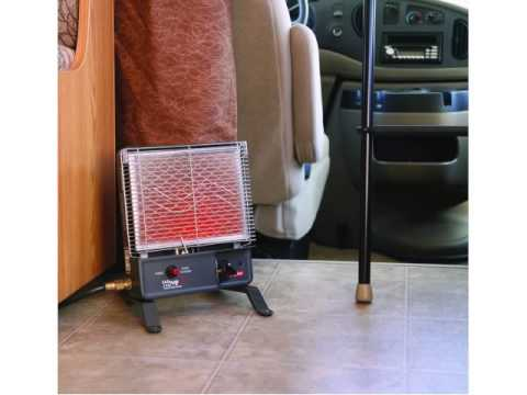 Camco 57331 Olympian Wave 3 3000 Btu Lp Gas Catalytic Heater 40784