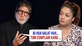 Amitabh Bachchan Finally Speaks Up, Supports Tanushree Dutta