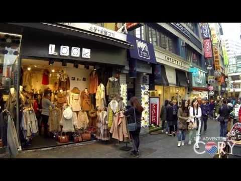 Myeongdong Shopping District (day & night) - SEOUL WALK