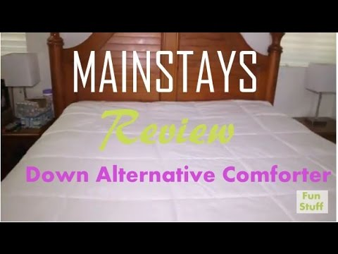 Review of MAINSTAYS Down Alternative Comforter