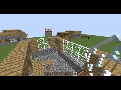 Minecraft Village Tutorial # 3: Library
