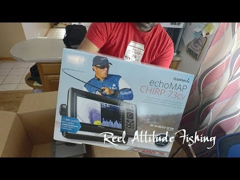 Unboxing And Review Garmin Echomap Chirp 73Cv
