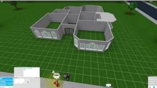 Roblox Bloxburg One Story House 150k