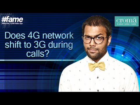 Does 4G Network Shift to 3G During Calls? - #Gadgetwala
