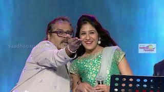 Hariharan & Shweta Mohan Dancing for குறுக்கு சிறுத்தவளே | MusicTube