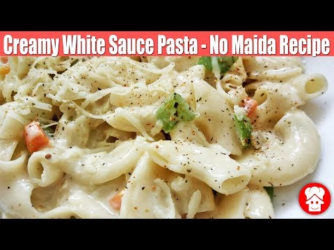 Domino's Style Creamy Cheesy White Sauce Pasta,Indian Style pasta Recipe,Macaroni pasta Hindi Recipe