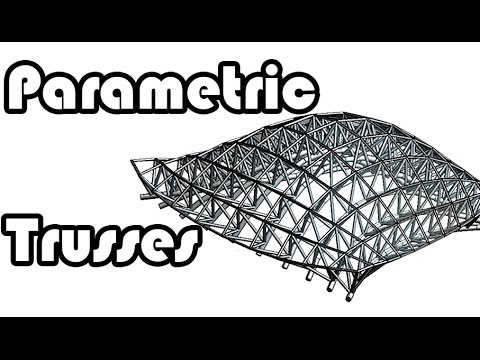 Learn revit in 5 Minutes - Parametric truss system