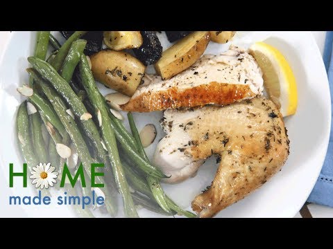 Easy Dinner Recipe: Super-Sassy Roast Chicken and Potatoes | Home Made Simple | OWN