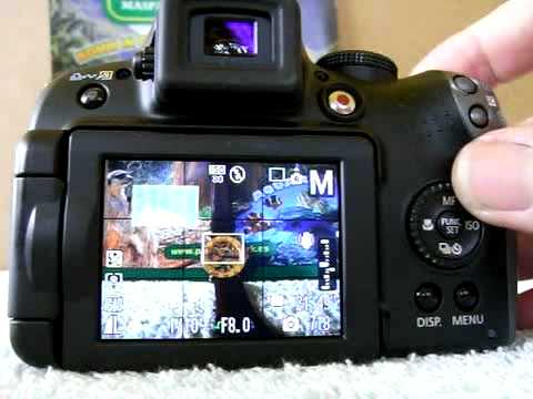 Canon SX10 IS manual mode