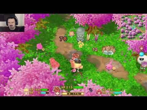 Secret of Mana (2018) playthrough pt31 - Finding the Secret Spot