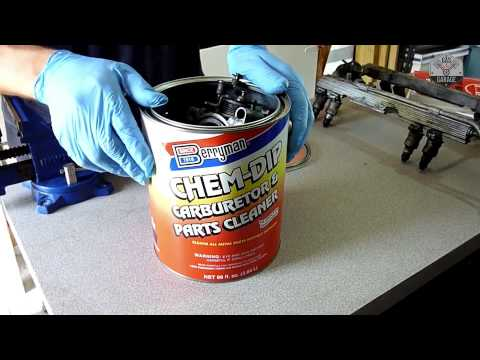 How to Rebuild A Corvette C4 Throttle Body ( Removing Carbon Build-Up ) - Part 3 of 4