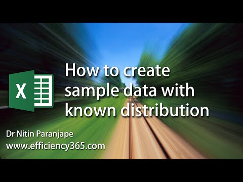 Excel: How to generate random data based upon known percentage distribution