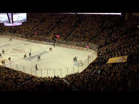 Deafening Nashville Predators Chants vs St. Louis Blues