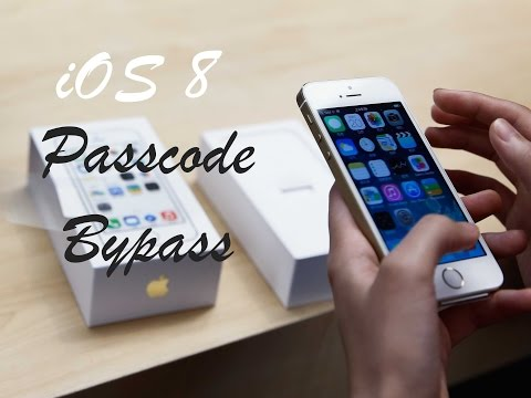 How to Bypass iOS 8 PASSCODE!
