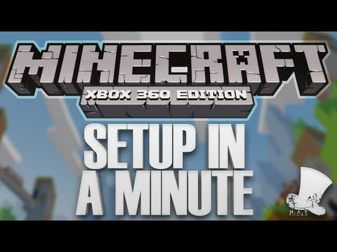 Minecraft on Xbox - Setup In a Minute