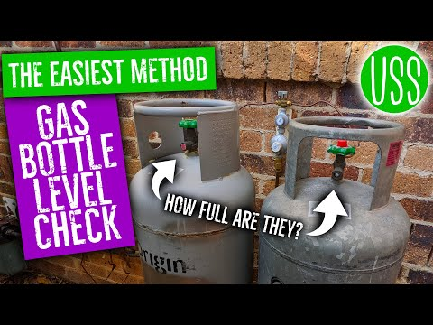 How to Check the Level in Your Gas Bottles