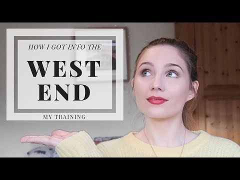 How I Got into the West End | My Training Journey | Georgie Ashford