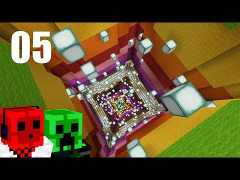 FALLING TUBES | 2017 Minecraft Christmas ADVENTure MAP | Day 5