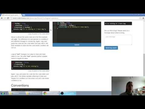 Web developerská škola, časť 24: JavaScript - Logické operátory