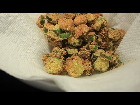 Super Easy Quick Fried Okra Side dish