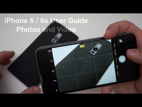 iPhone 6 / 6s User Guide - The Camera - Taking and editing Photos and Video