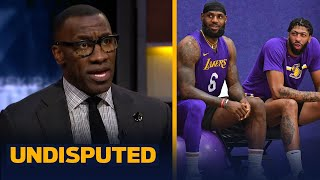 Shannon explains what Anthony Davis' eye injury means for LeBron & the Lakers   NBA   UNDISPUTED