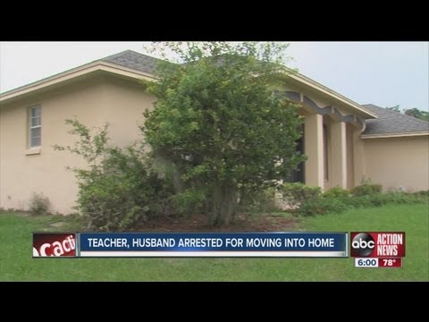 Polk teacher charged with adverse possession - squatting in Lakeland house