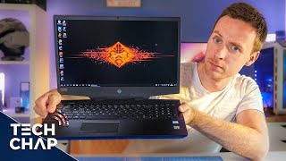 """The HP OMEN 17 is a BEAST of a Gaming Laptop! [17"""" 144Hz RTX 2070] 