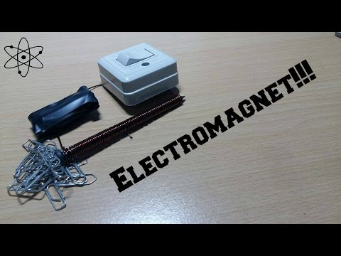 Creating an Electromagnet with a Nail