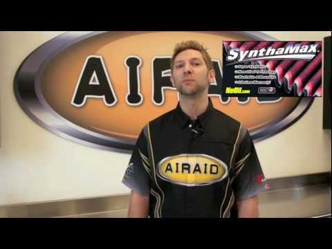 AIRAID SynthaMax (NON-Oiled) Cleaning Instructional Video