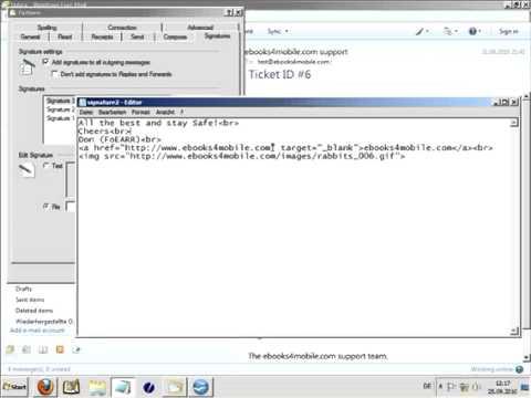 Windows Live Mail video 2
