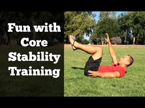 Dynamic Core Stability Exercises