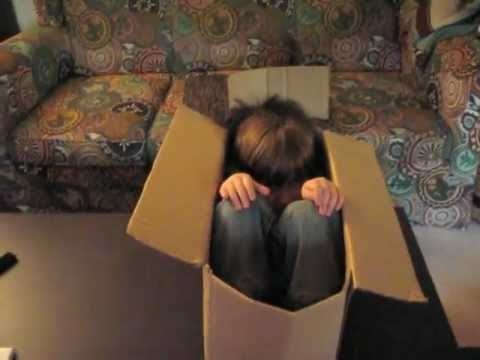 Dad's Cardboard Rollercoaster: Toddler POV