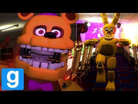 Play As Fredbear And Spring Bonnie Gmod Fnaf Fredbears Family